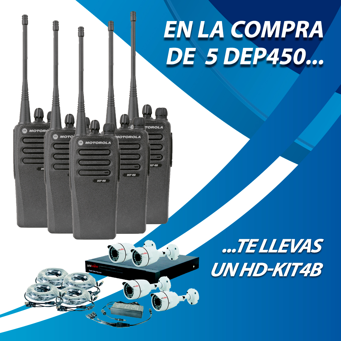 5 DEP450 + HD-KIT4B