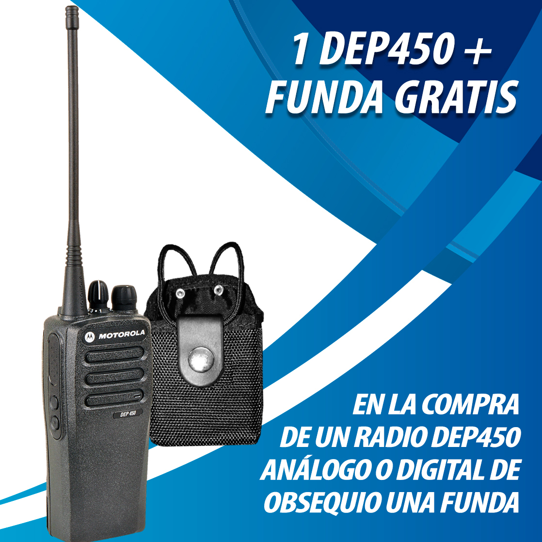 DEP450 CON FUNDA GRATIS
