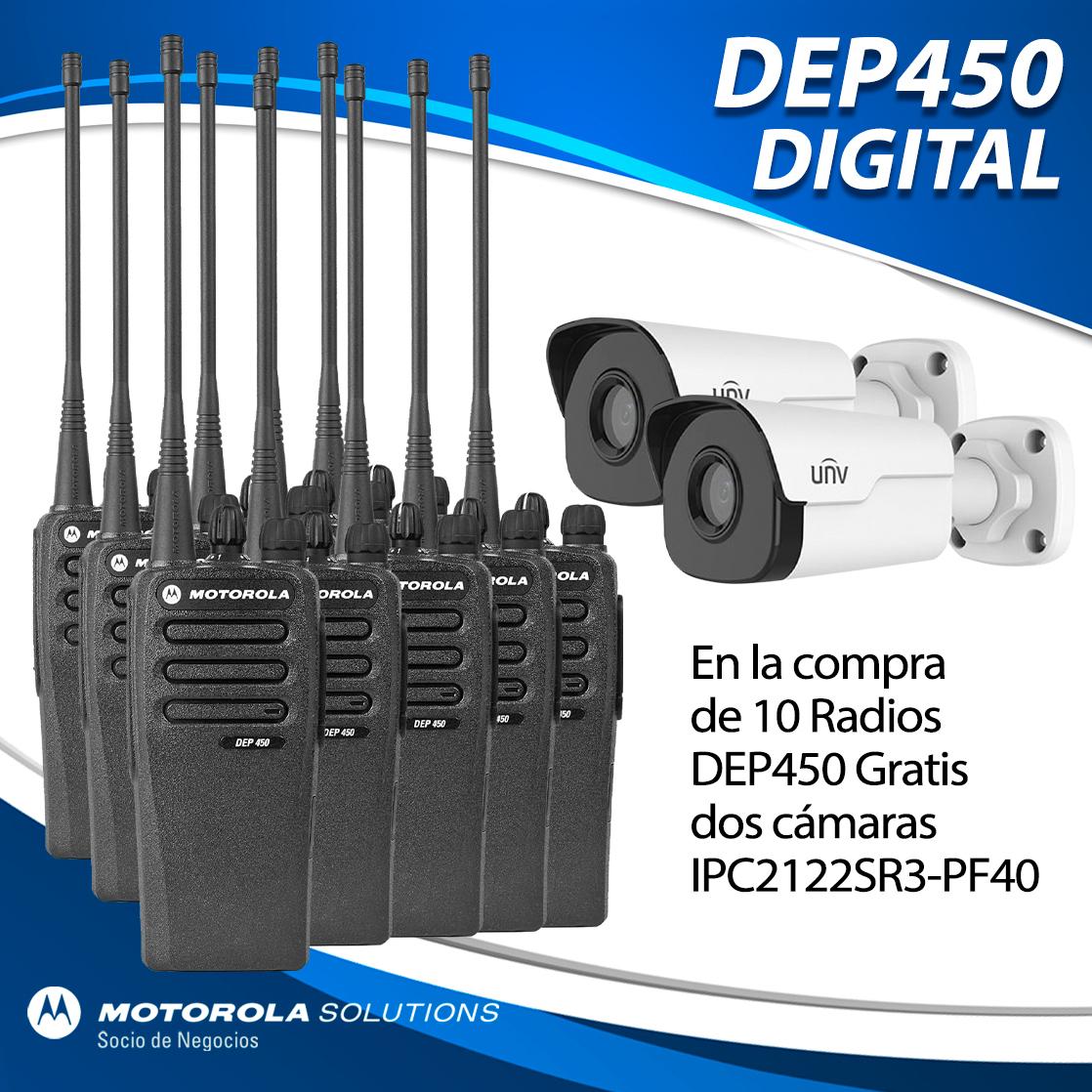 10 DEP450 MÁS DOS CÁMARAS GRATIS