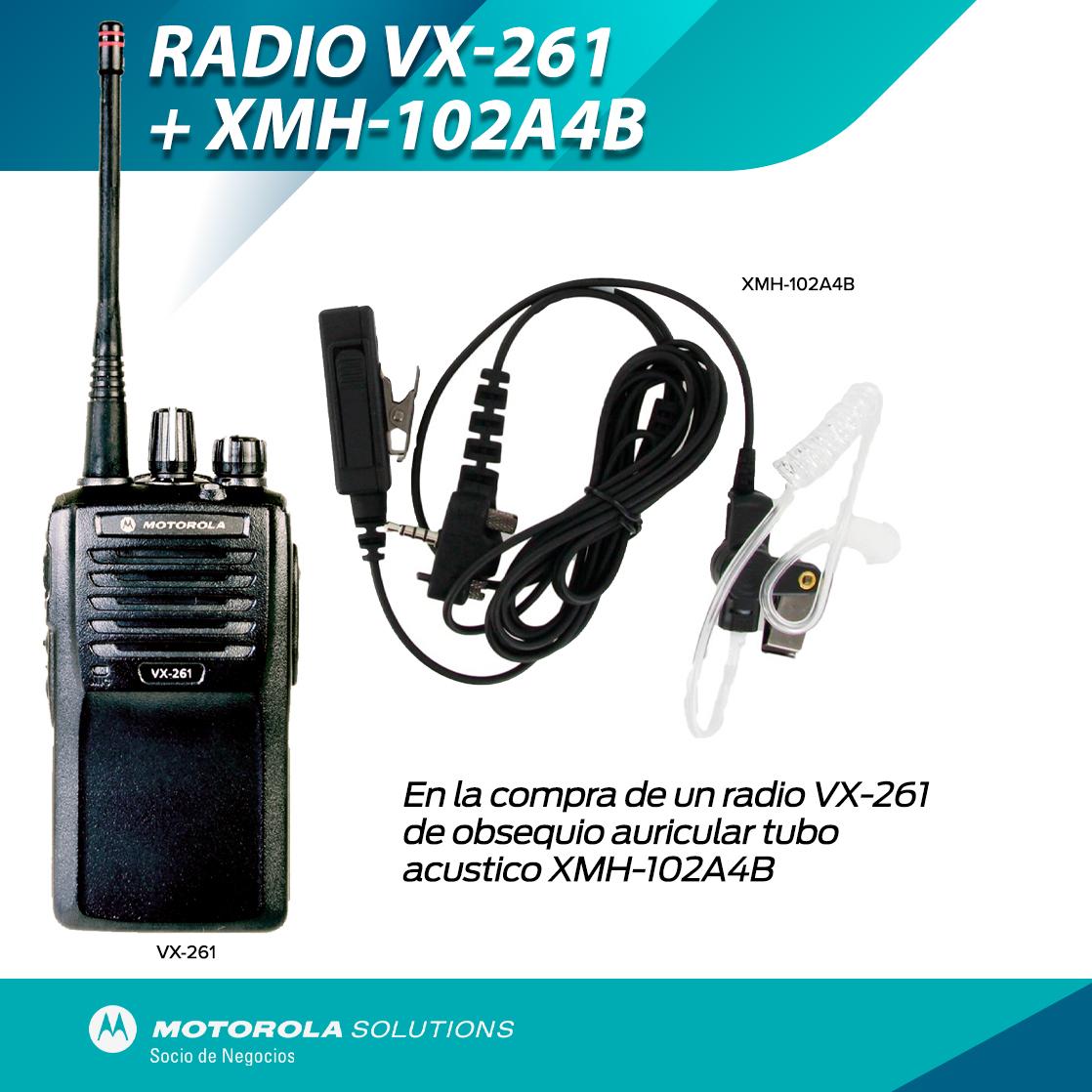 VX-261 CON AURICULAR GRATIS