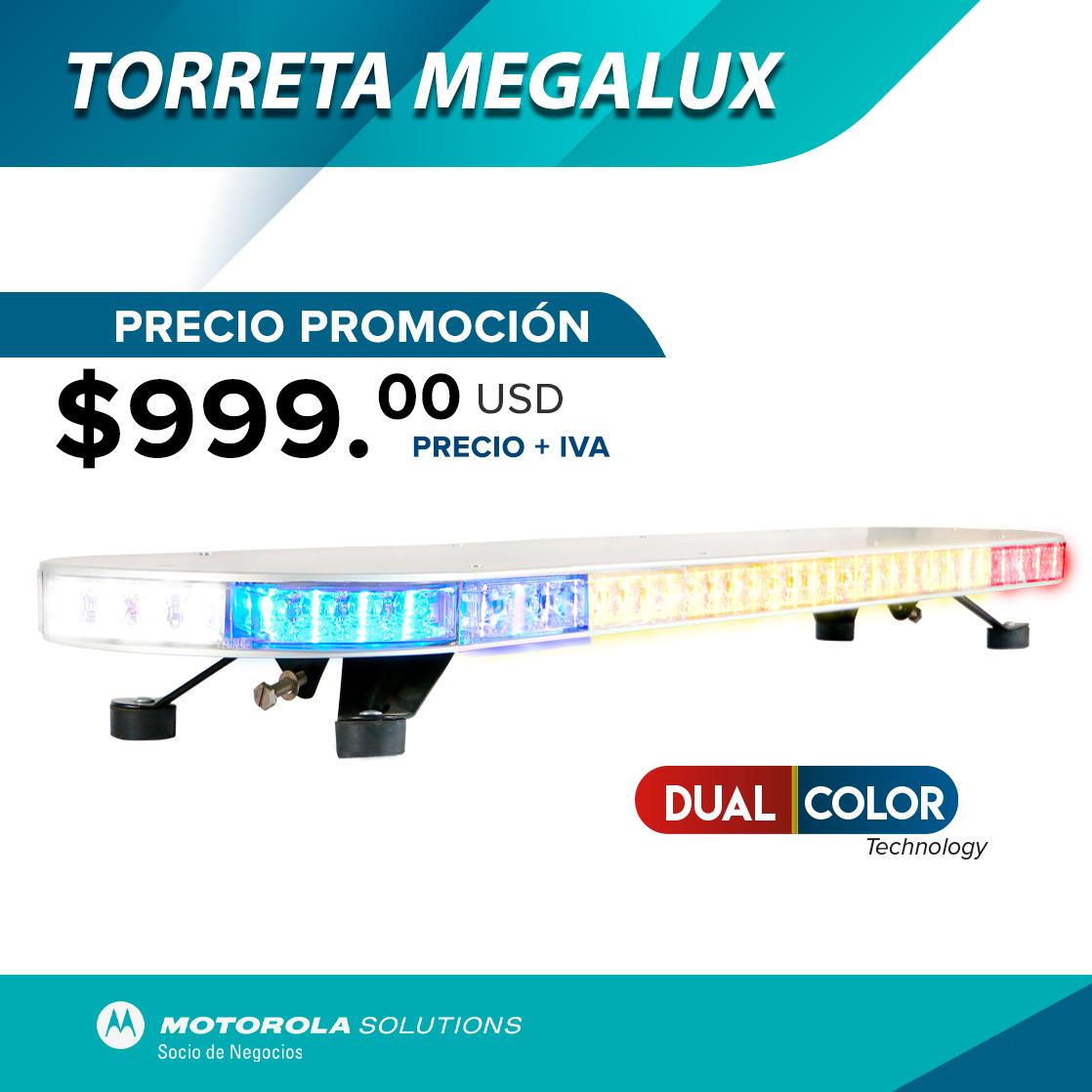 Torreta Megalux Dual Color