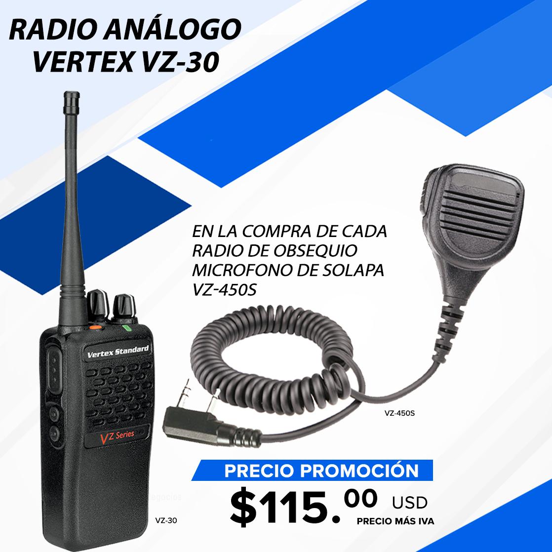 VZ-30 + micrófono de solapa