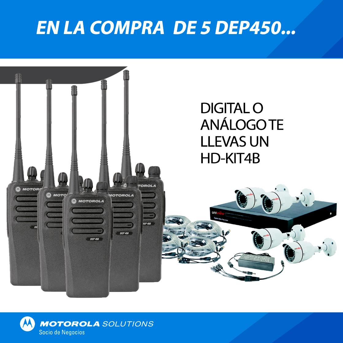 5 DEP450 CON KIT CCTV GRATIS