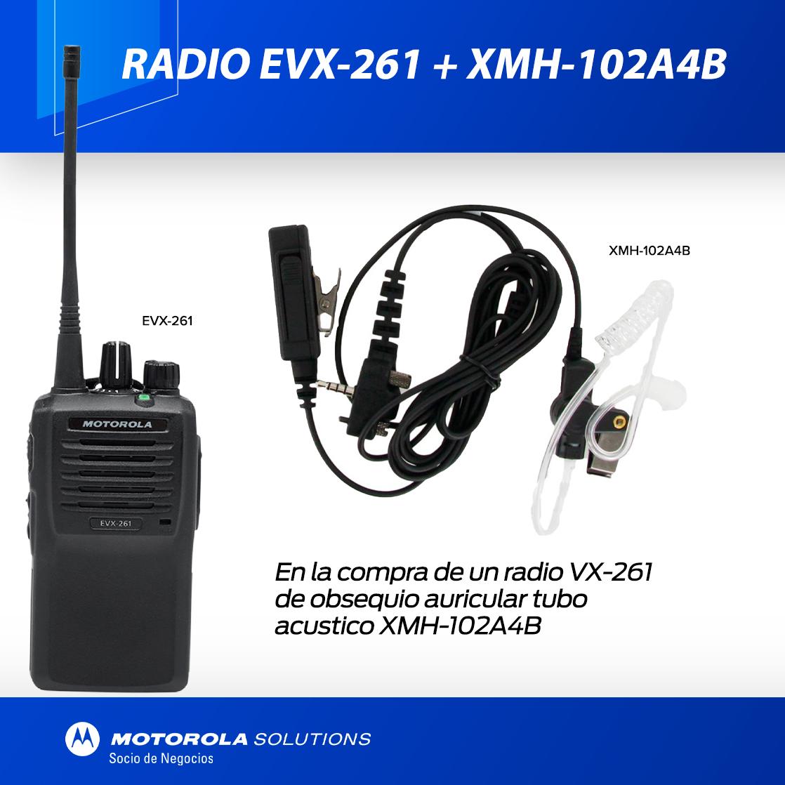 EVX-261 CON AURICULAR